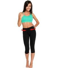 WINNER Fitness legíny Slimming capri colorado