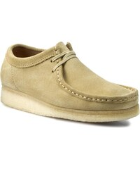 Polobotky CLARKS - Wallabee 261037607 Maple Suede