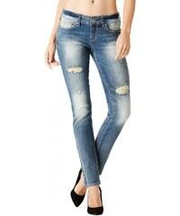 GUESS GUESS Sarah Skinny Jeans in Medium Vintage Wash - medium destroy wash