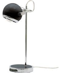 Present Time Retro stolní lampa, černá