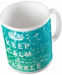 Keramický hrnek Keep Calm, 375 ml