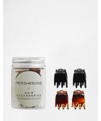 Hershesons - Mini-pinces à cheveux - Clair