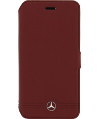 Pouzdro / kryt pro Apple iPhone 6 / 6S - Mercedes-Benz, Grill Book Red