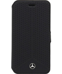 Pouzdro / kryt pro Apple iPhone 6 / 6S - Mercedes-Benz, Perforated Book Black