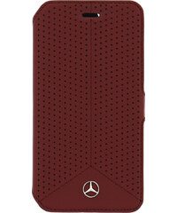 Pouzdro / kryt pro Apple iPhone 6 / 6S - Mercedes-Benz, Perforated Book Red