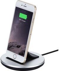 Dokovací stanice s kabelem Lightning pro iPhone - Just Mobile, AluBolt