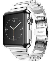 Kovový pásek / řemínek pro Apple Watch 42mm - Hoco, Grand Series Silver
