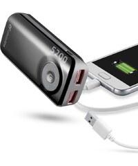 Externí baterie pro iPhone a iPad - CellularLine, EMERGENCY FREEPOWER 5200mAh Black