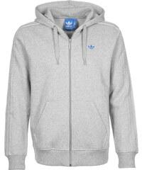 adidas Classic Trefoil Hooded Zipper medium grey heather