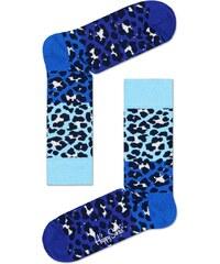 Ponožky Happy Socks Block Leopard BLE01-6000