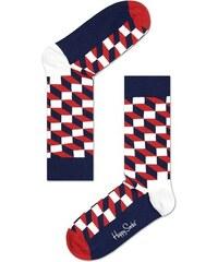 Ponožky Happy Socks Filled Optic Sock FO01-068