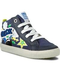 Sneakersy GEOX - J Kiwi B.C J62A7C 01054 C4243 Morski/Kolorowy