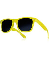 UFG Žluté sluneční brýle Wayfarer