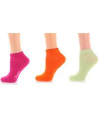 Playboy Dámské barevné ponožky PW09 - Trojbalení