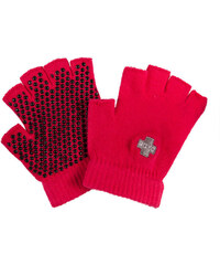 Dámské fuchsiové rukavice na Jógu Soxo Yoga