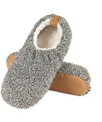 SOXO Pánské světle šedé pantofle Soft