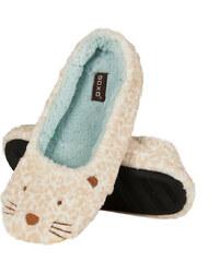 SOXO Dámské béžové leopardí pantofle Mira