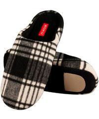 SOXO Pánské černé pantofle Basic Slippers