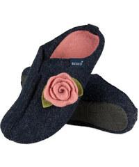 SOXO Dámské tmavě modré pantofle Rosamunde