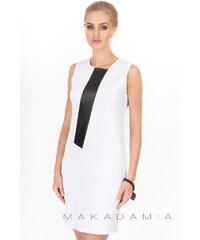 Makadamia Bílé šaty M183
