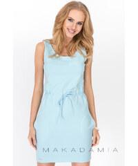 Makadamia Světle modré šaty M202
