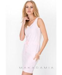 Makadamia Světle růžové šaty M202