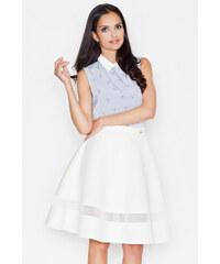 Figl Smetanová sukně M367