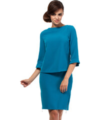 Modrá sukně MOE 191