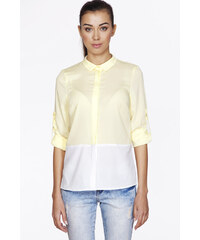 Ambigante Žluto-bílá košile ABK0077