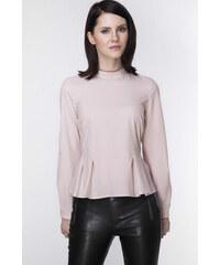 Ambigante Béžovo-růžová košile ABK0043