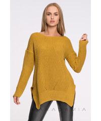 Makadamia Žlutý pulovr S33