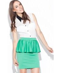 Katrus Zelená sukně K024