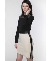 Ambigante Béžová sukně ASP0011