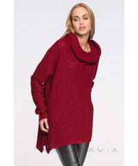 Makadamia Bordový pulovr S30