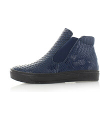 Sergio Todzi Tmavě modré kotníkové boty Gerda