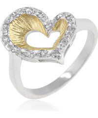 LYRA Prsten s čirými Zirkony R08133T-C01