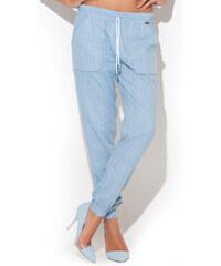 Katrus Světlemodré kalhoty K217