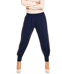 Karen Styl Tmavě modré kalhoty H07