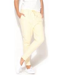 Katrus Žluté teplákové kalhoty K187