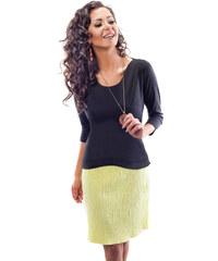 Enny Žluté šaty 18002