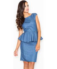 Figl Tmavě modré šaty M401