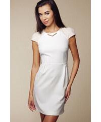 Ambigante Smetanové šaty ASU0004