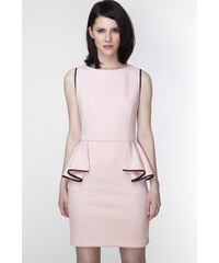 Ambigante Světle růžové šaty ASU0007