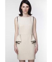 Ambigante Béžové šaty ASU0008