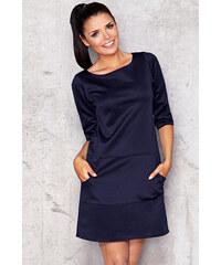 Infinite You Tmavě modré šaty M013
