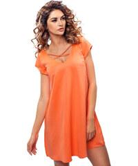 Enny Oranžové šaty 190084