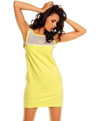 Nommo Žluté šaty NA13