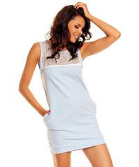 Nommo Modro-fialové šaty NA13