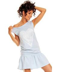 Nommo Světle modré šaty NA15