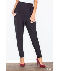 Figl Černé kalhoty M418